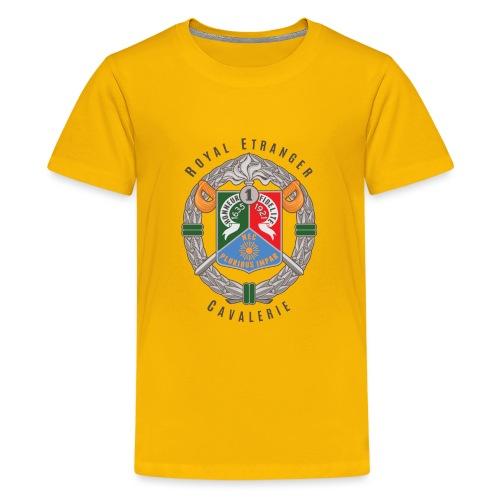 1er REC - 1 REC - Legion - Badge - Dark - Kids' Premium T-Shirt