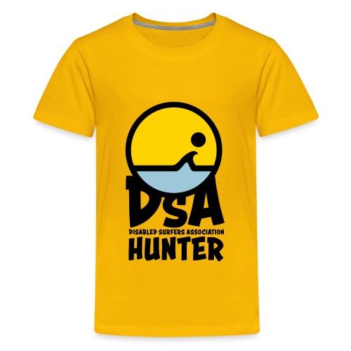 Disabled Surfers Association Hunter - Dark Logo - Kids' Premium T-Shirt