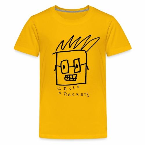 Uncle Knackers Self Portrait. - Kids' Premium T-Shirt