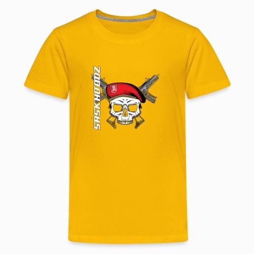 saskhoodz skull - Kids' Premium T-Shirt