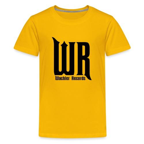 Wachler Records Dark Logo - Kids' Premium T-Shirt