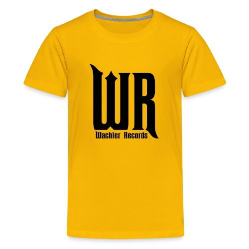 Wachler Records Dark Logo - Kids' Premium T-Shirt