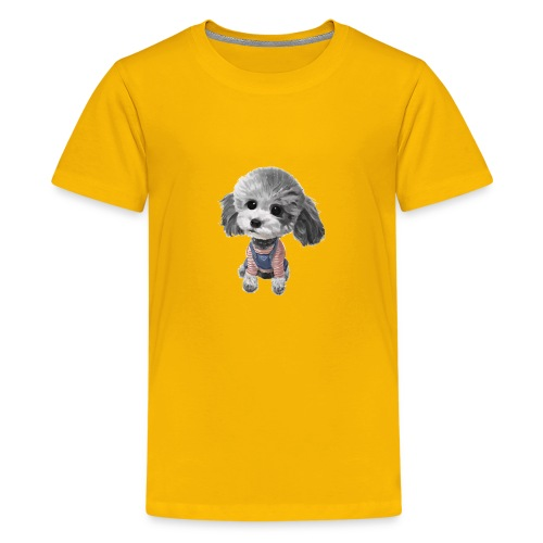 cute dog - Kids' Premium T-Shirt