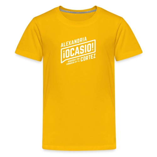 alexandria ocasio cortez art - Kids' Premium T-Shirt