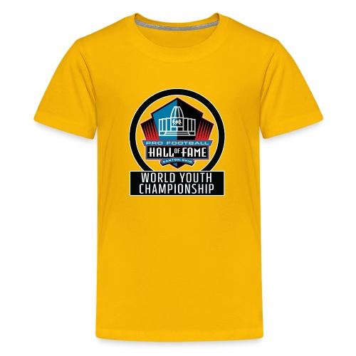 PFHOF World Youth Champ White Outline - Kids' Premium T-Shirt