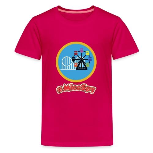 Paradise Pier Explorer Badge - Kids' Premium T-Shirt