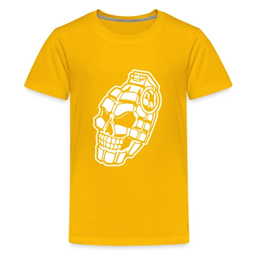 Skull Grenade - Kids' Premium T-Shirt
