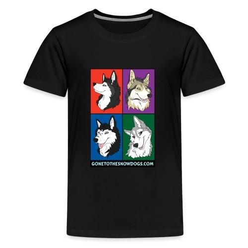 The Husky Girls - Kids' Premium T-Shirt