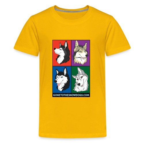 The Husky Girls - Kids' Premium T-Shirt