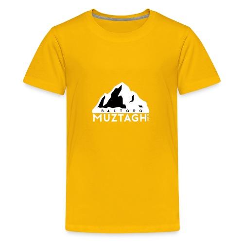 Baltoro_Muztagh_White - Kids' Premium T-Shirt