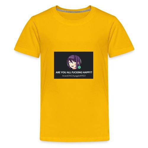weeabooanus - Kids' Premium T-Shirt