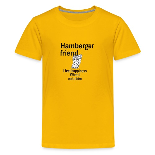 Hamberger friend - Kids' Premium T-Shirt