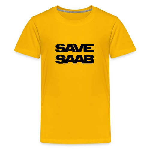 Saab logo products - Kids' Premium T-Shirt