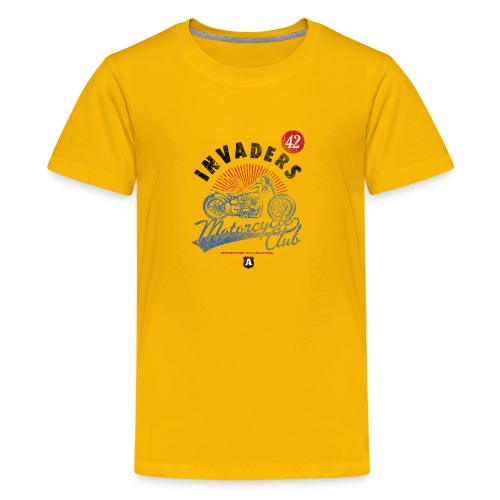 Invaders Bike Motor Cycle Club - Kids' Premium T-Shirt