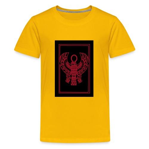 Heru- Horus (Ancient Mystery School KMT) - Kids' Premium T-Shirt