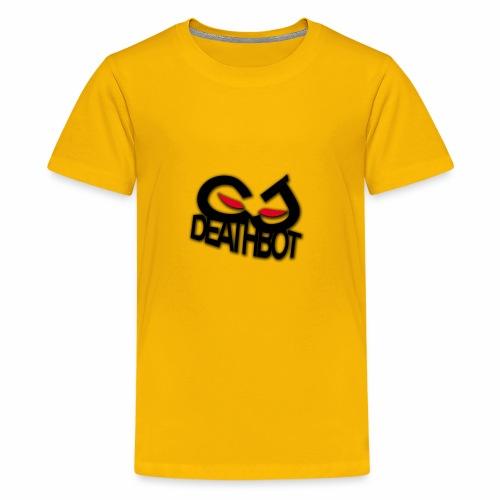 CJDEATHBOT logo - Kids' Premium T-Shirt