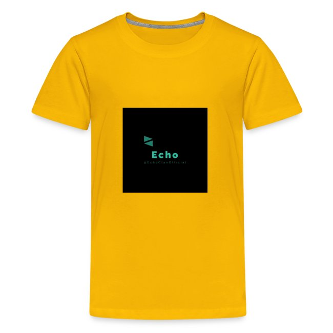 Echo Clan Offical Logo Merch