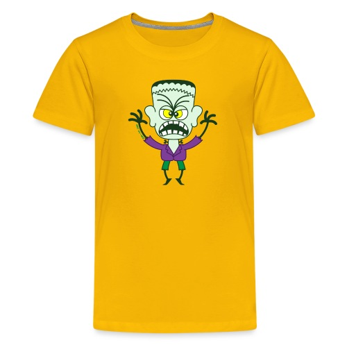 Scary Halloween Frankenstein - Kids' Premium T-Shirt