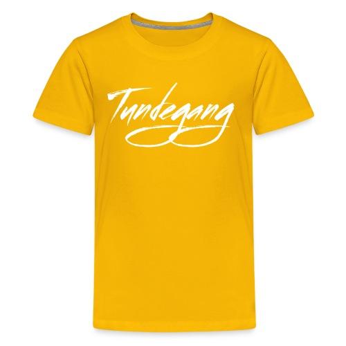 Tundegang Brushstroke - Kids' Premium T-Shirt
