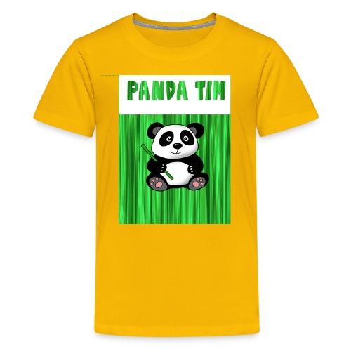 Panda Tim - Kids' Premium T-Shirt