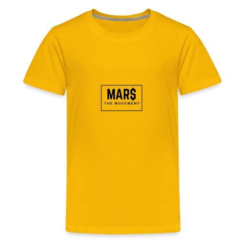 MAR$ Orginal White T-Shirt - Kids' Premium T-Shirt