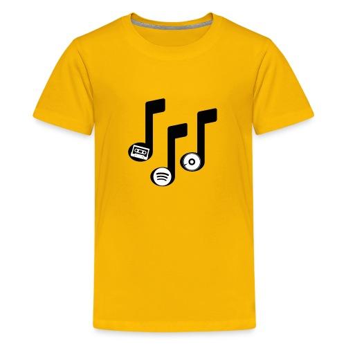 Music notes - Kids' Premium T-Shirt