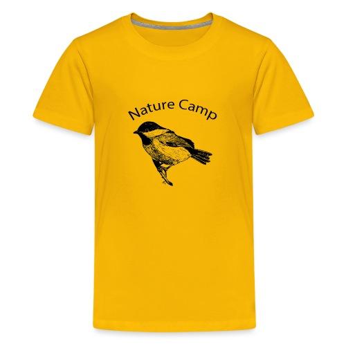 Nature Camp Chickadee - Kids' Premium T-Shirt