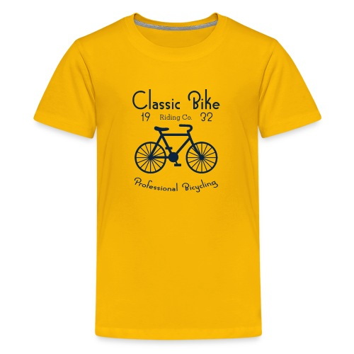 Classic Bike Professional Bicycling - Kids' Premium T-Shirt