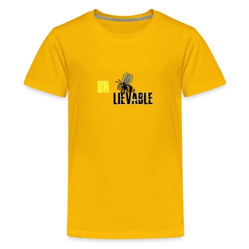 Unbee lievable Bee Design - Kids' Premium T-Shirt