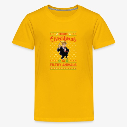 MEERRY CHRISTMAS YA FILTHY ANIMALS - Kids' Premium T-Shirt