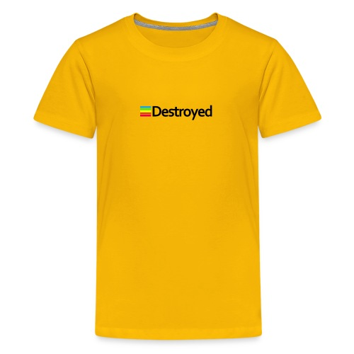 Polaroid Destroyed - Kids' Premium T-Shirt