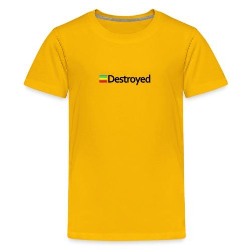 Polaroid Destroyed - Kids' Premium T-Shirt