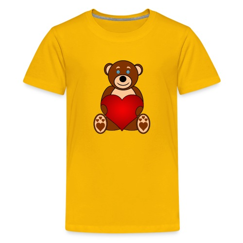 Baer - Alone or with text for figurative words - Kids' Premium T-Shirt