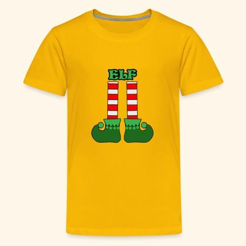 Elf Legs Funny - Kids' Premium T-Shirt