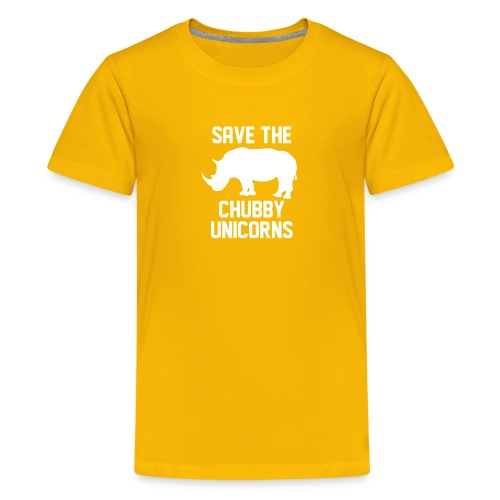 Save The Chubby Unicorns - Kids' Premium T-Shirt
