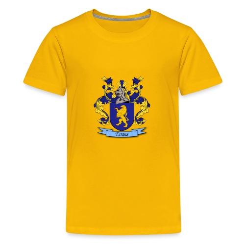 Evans Family Crest - Kids' Premium T-Shirt