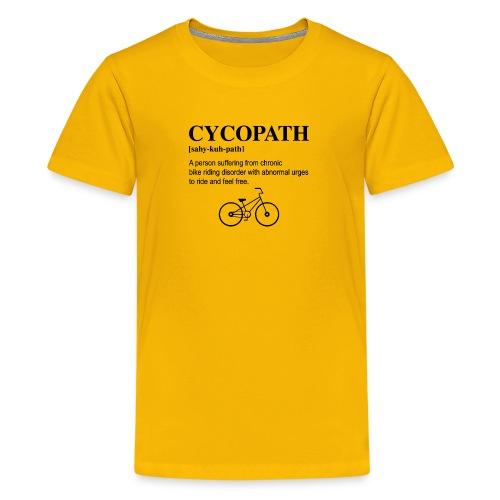 Cycopath Noun logo - Kids' Premium T-Shirt
