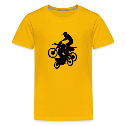 Motocross Dirt Bikes Off-road Motorcycle Racing - Kids' Premium T-Shirt
