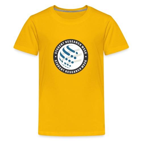 Student Research Week circle - Kids' Premium T-Shirt