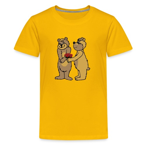 Baers - Alone or with text for figurative words - Kids' Premium T-Shirt