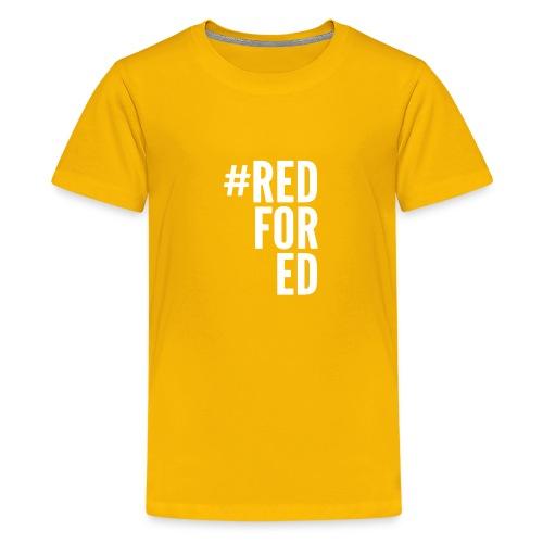 Red For Ed logo - Kids' Premium T-Shirt