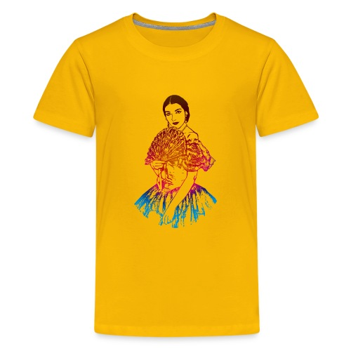 La traviata: Maria Callas as Violetta Valéry - Kids' Premium T-Shirt