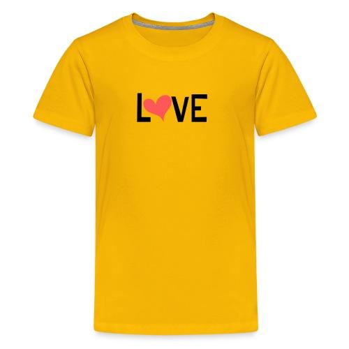 LOVE heart - Kids' Premium T-Shirt