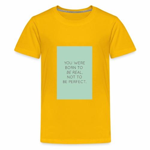f8a81d2c45e6558cb1a0e2107b79b64f true beauty quot - Kids' Premium T-Shirt