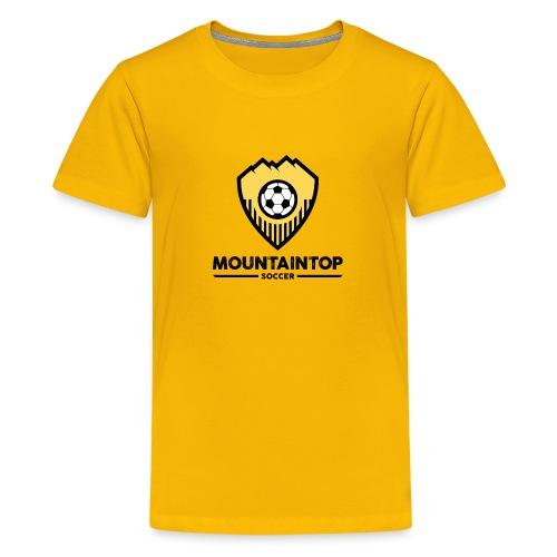 Mountaintop Soccer Association Logo - Kids' Premium T-Shirt