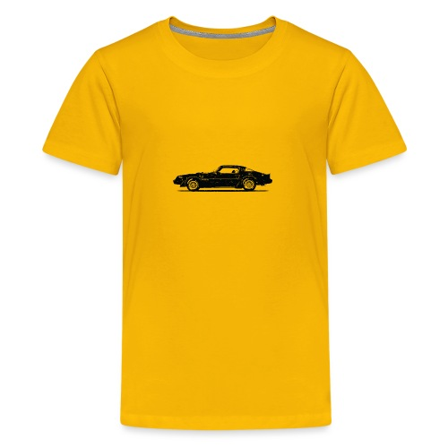 classic car grungy tshirt 01 - Kids' Premium T-Shirt