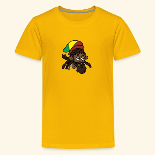 Rasta Ricky Head Logo - Kids' Premium T-Shirt