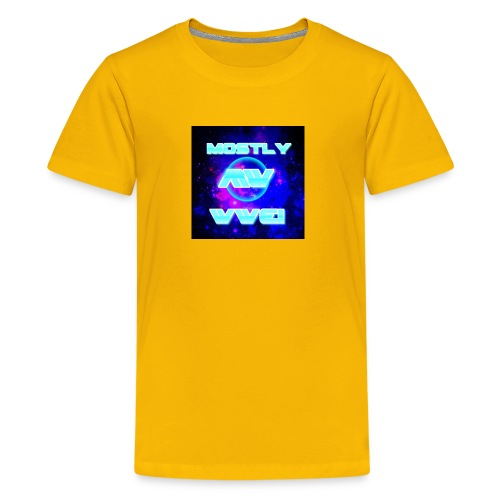mostly wwe! space logo - Kids' Premium T-Shirt