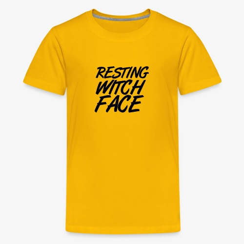Resting Witch Face - Kids' Premium T-Shirt