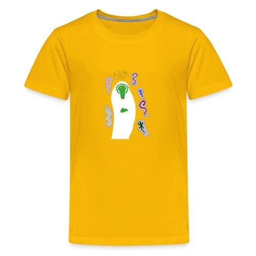 Holy Reptile Priest - Kids' Premium T-Shirt